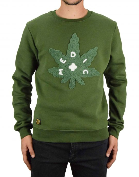 The Dudes Medic Premium Sweatshirt (1009844) Army Party