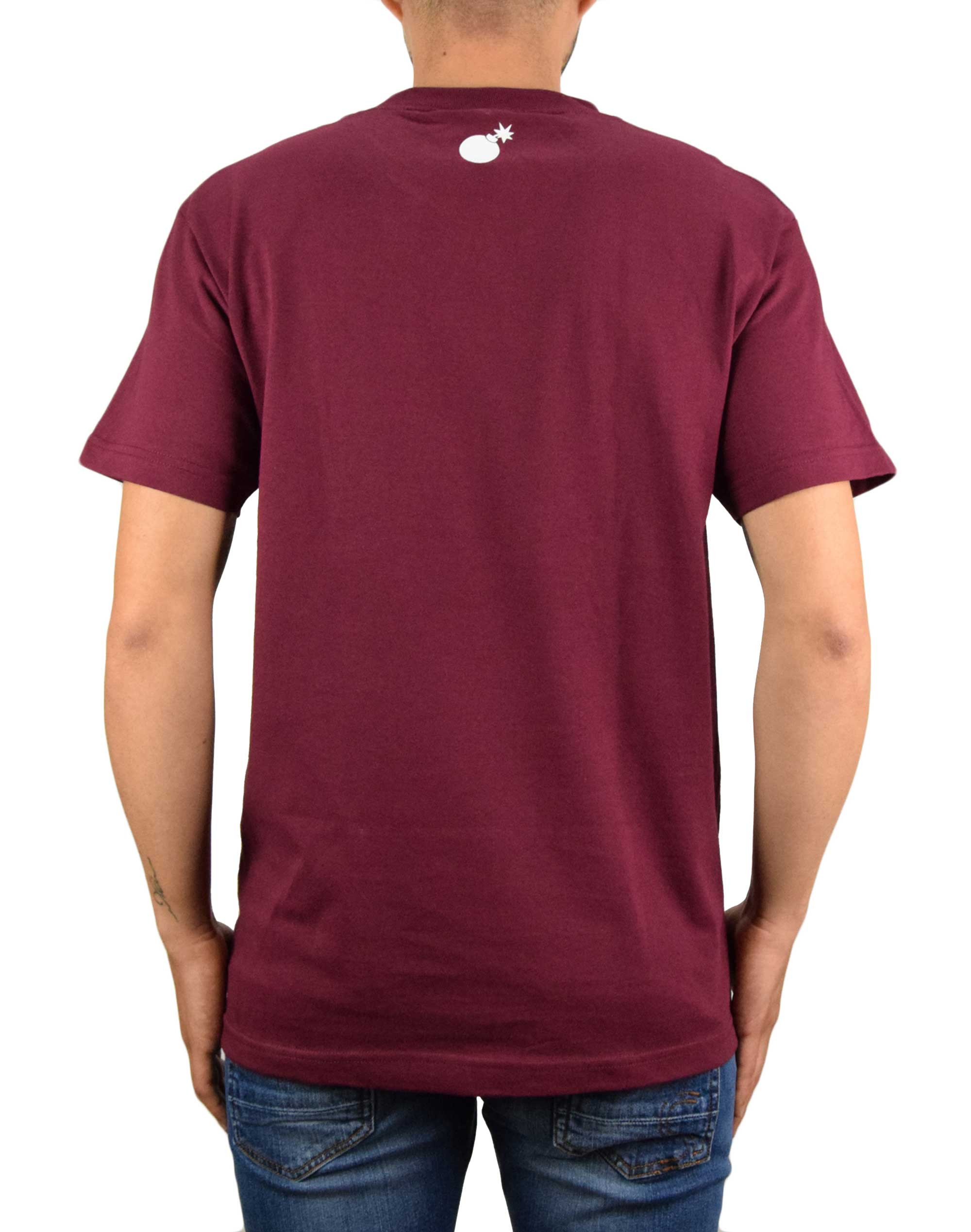 The Hundreds Bar Logo Tee (HUNF19P101001) Burgundy