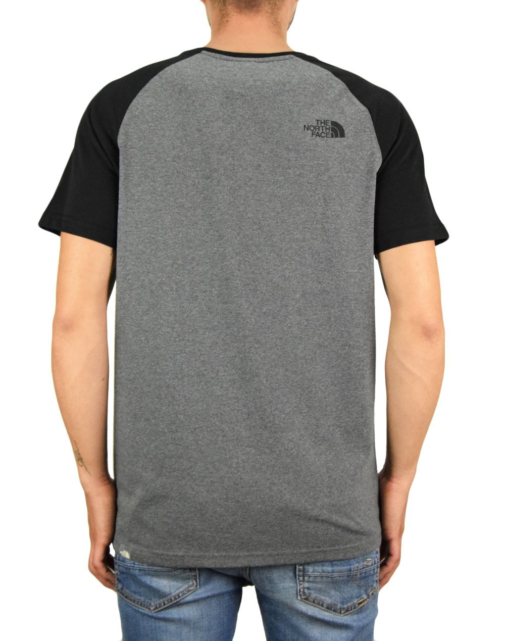 The North Face Raglan Easy Tee (NF0A37FVJBV1) Medium Grey Heather