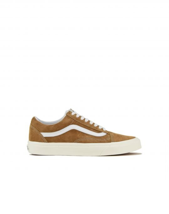 Vans Old Skool Pig Suede (VN0A4BV518M1) Brown Sugar/Snow White