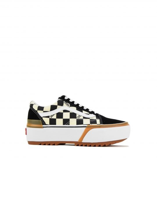 Vans Old Skool Stacked Checkerboard (VN0A4U15VLV1) Multi/True