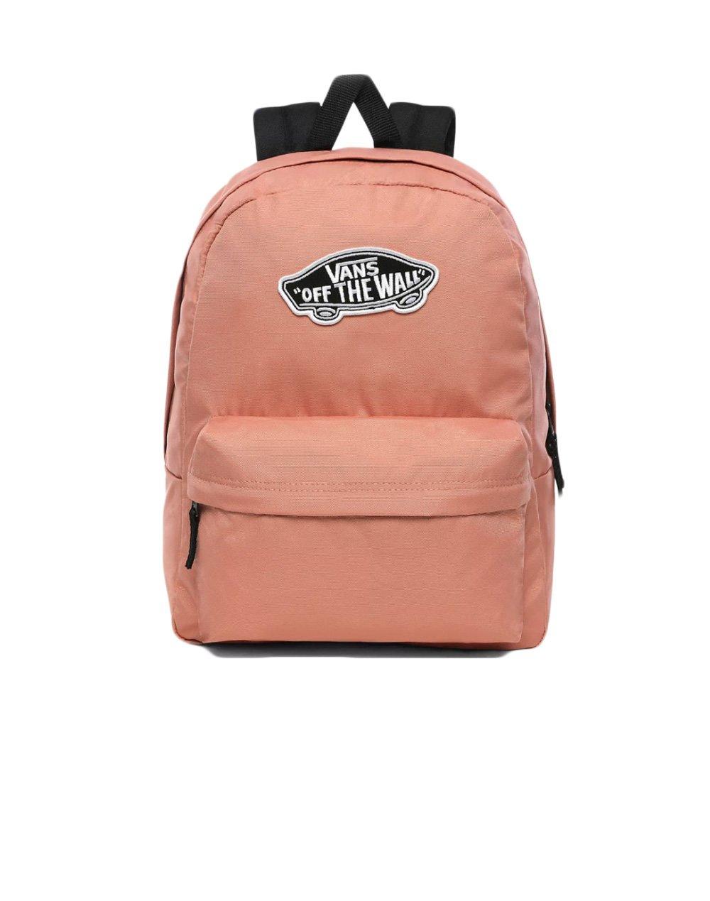 Vans Realm Backpack 22L (VN0A3UI6ZLS1) Rose Down