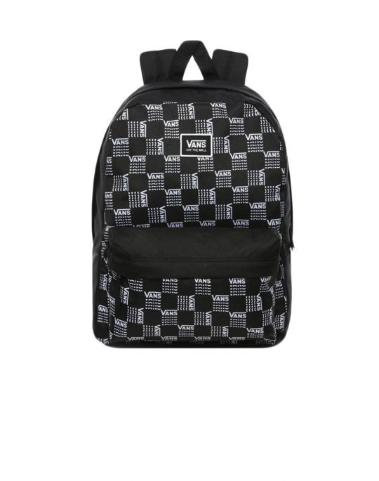 Vans Realm Backpack 22L (VN0A3UI7ZM01) Black/All Over Logo