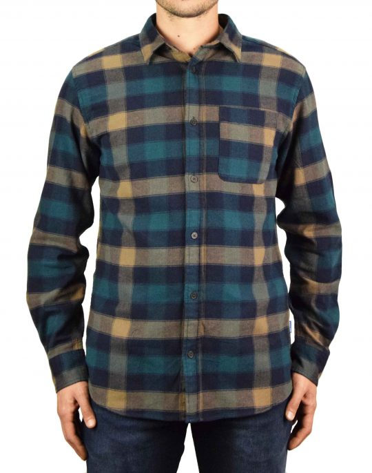 Jack & Jones Chester Comfort Shirt (12183842) Rubber