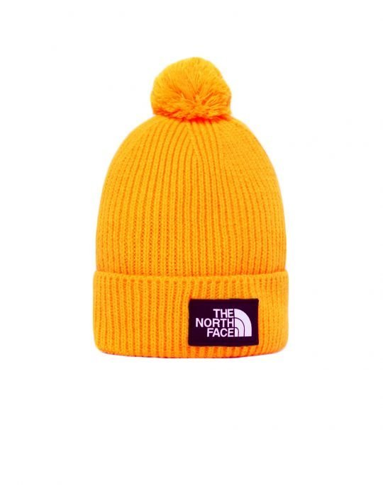 The North Face Logo Box Cuffed Beanie (NF0A3FN356P1) Summit Gold