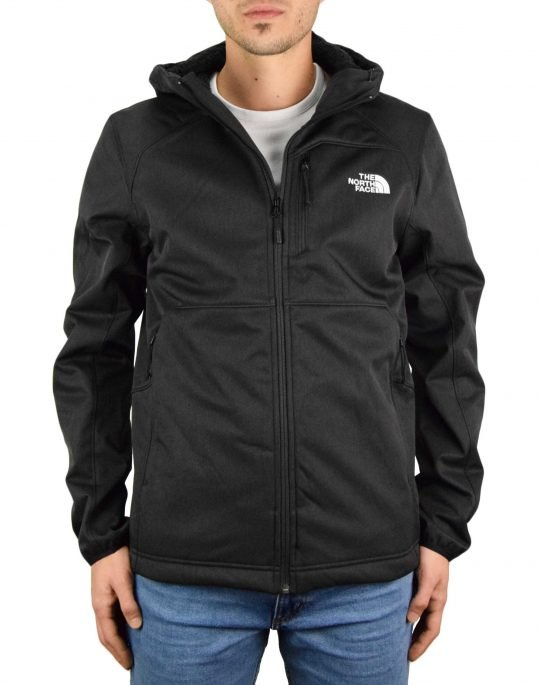 The North Face Quest Hooded Softshell Jacket (NF0A3YFPKX71) Black