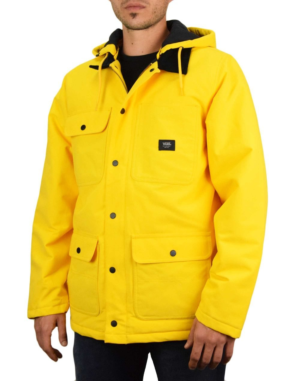 Vans Drill Chore Jacket (VN0A45AP85W1) Lemon Chrome
