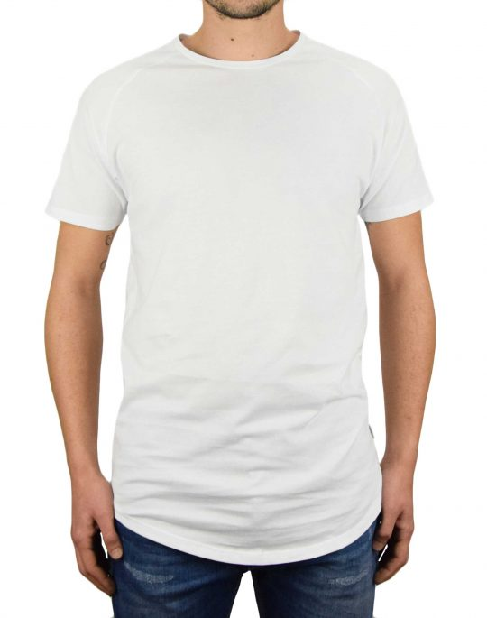 Jack & Jones Curved Tee (12164936) White