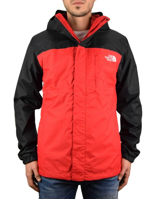 The North Face Quest Triclimate Jacket (NF0A3YFHKZ3) Red/Black