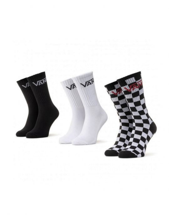 Vans Classic Crew 3 Pack (VN000XRZ95Y1) Black Checkerboard
