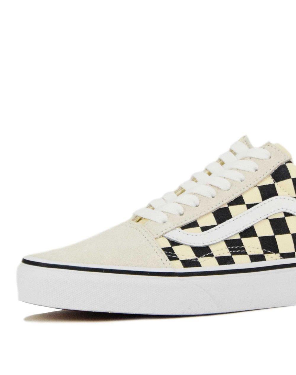 Vans Old Skool Checkerboard (VN0A38G127K1) White/Black
