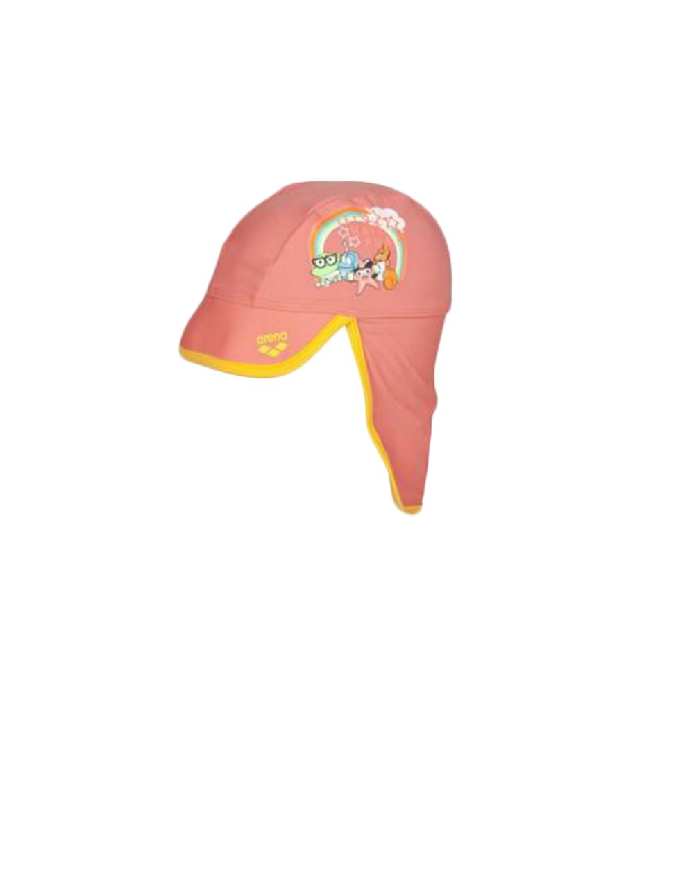 Arena AWT Kids UV Sun Protect Cap (002062943) Pale Rose/Lily Yellow