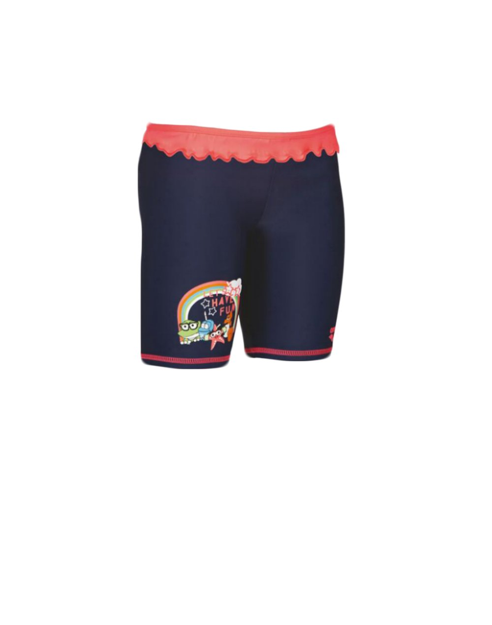 Arena AWT Kids UV Sun Protect Jammer (002049709) Navy/Shiny Pink