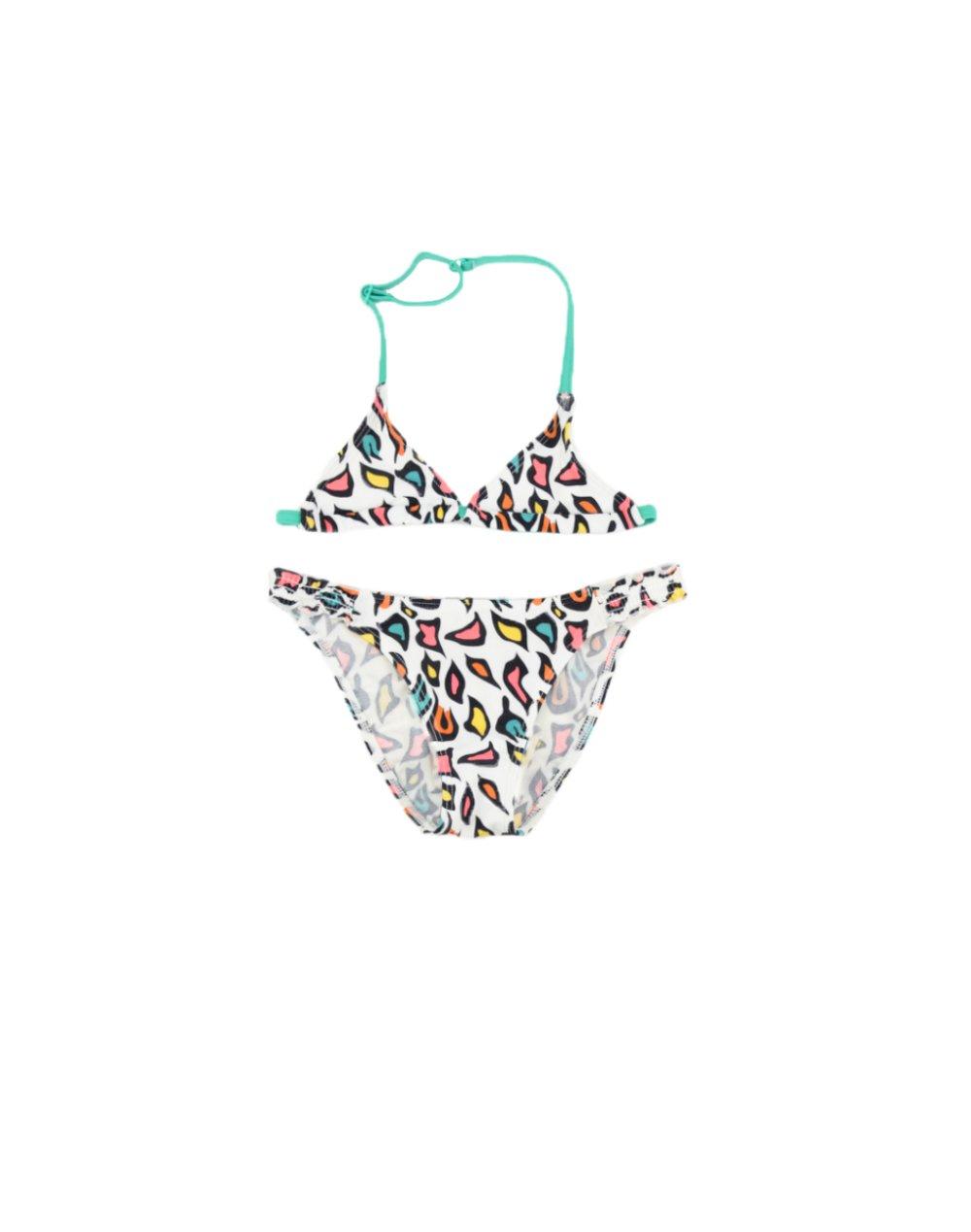 Arena Fantasy Jr Bikini Triangle (001806101) White/Multi