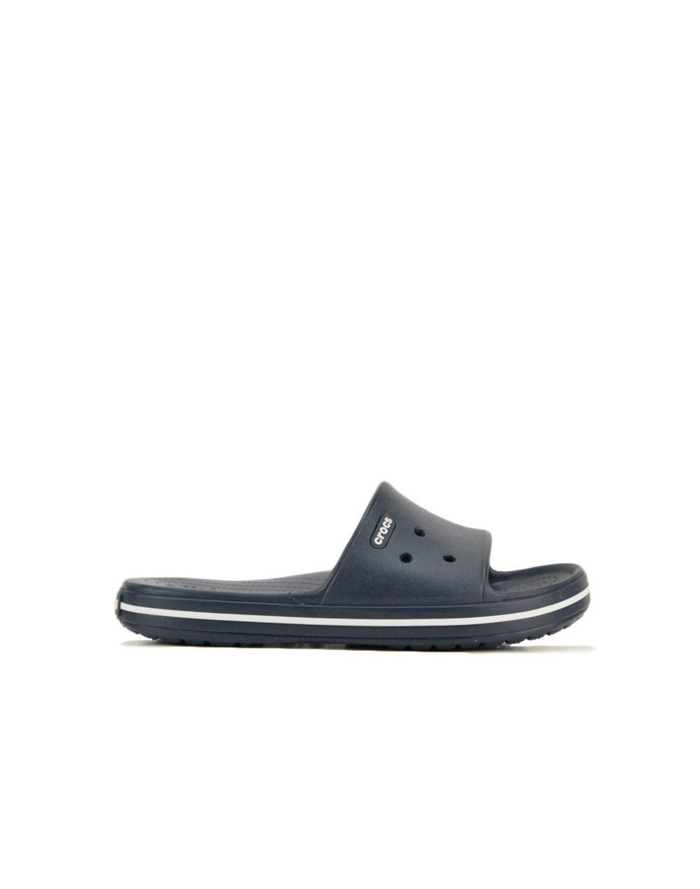 Crocs Crocband III Slide (205733-462) Navy/White
