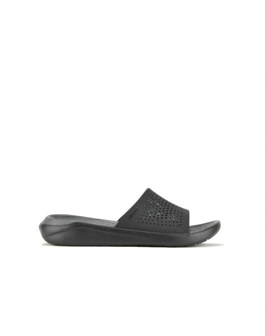 Crocs LiteRide Slide (205183-ODD) Black/Slate Grey