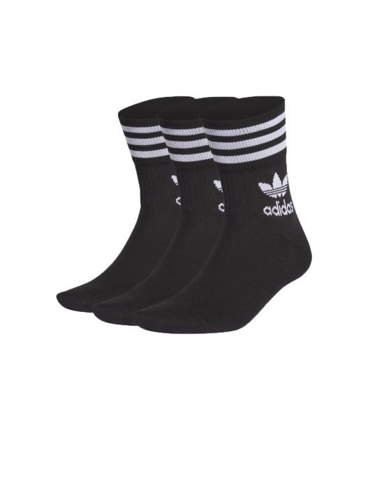 Adidas Mid Cut Crew Sock (GD3576) Black
