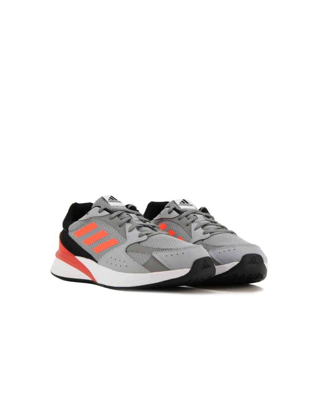 Adidas Response Run (FY5956) Halo Silver/Solar Red/Grey Three