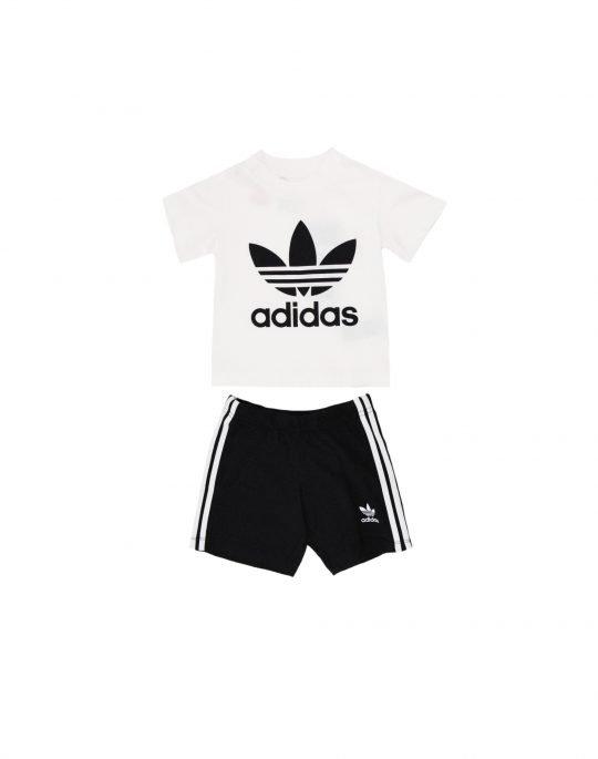 Adidas Short Tee Set (FI8318) White/Black