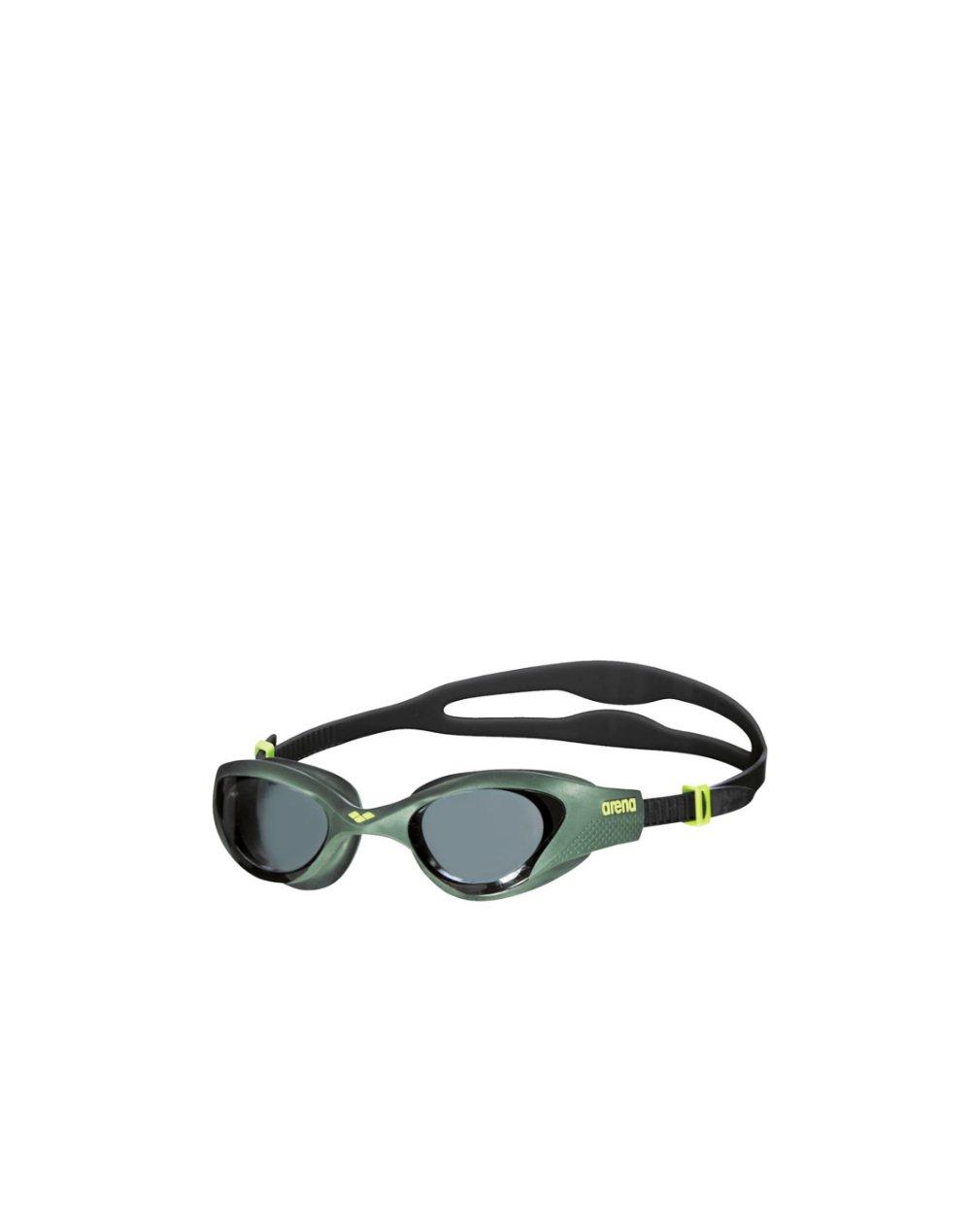Arena The One Training Coggles (001430 560) Smoke/Deep Green/Black