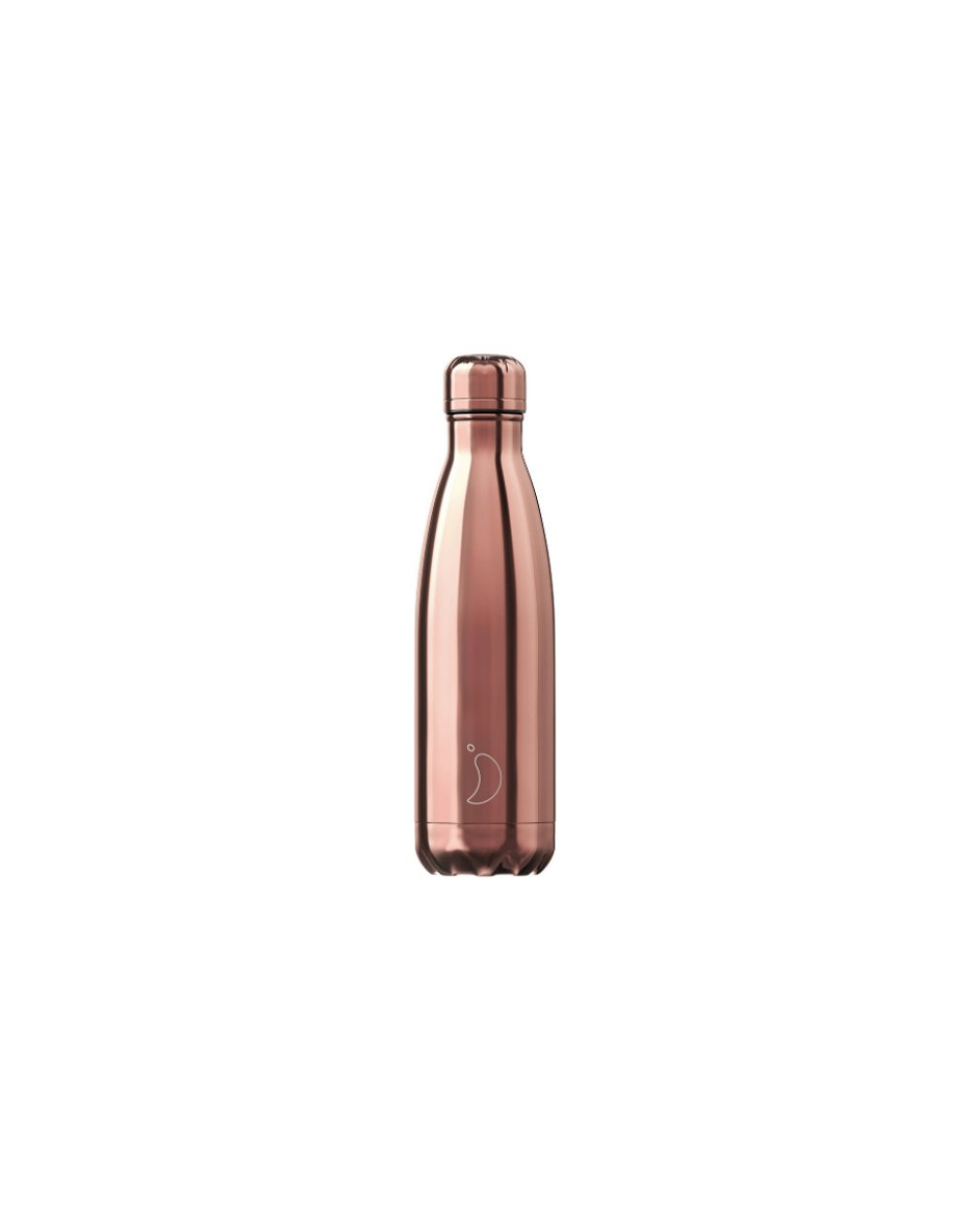 Chilly's Chrome Edition Reusable Bottle 500ml (200302) Rose Gold