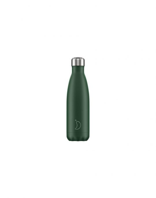 Chilly's Matte Edition Reusable Bottle 500ml (200202) Green