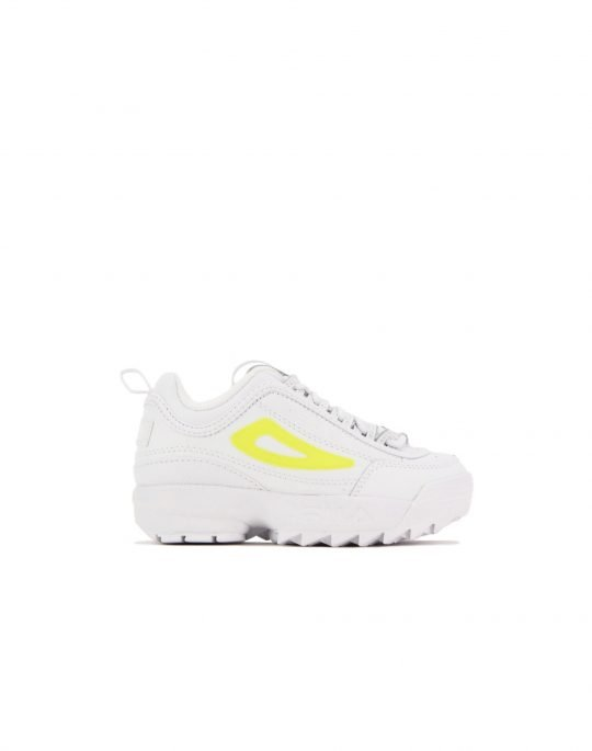 Fila Disruptor II (3XM01328-136) White/White/Safety Yellow