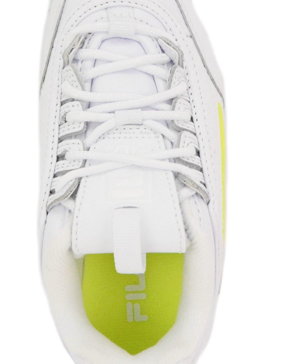 Fila Disruptor II (3XM01328-136) White/White/Safety Yellow