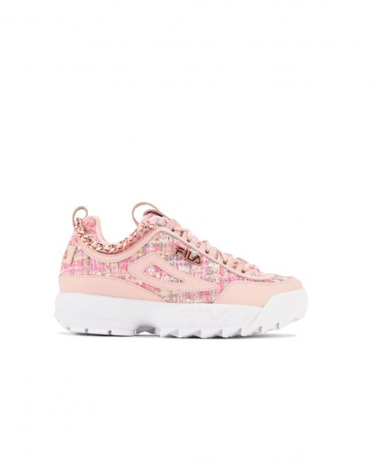 Fila Disruptor II Tweed Lux (5XM01297-772) Multi/Venice Rose/Rose Gold