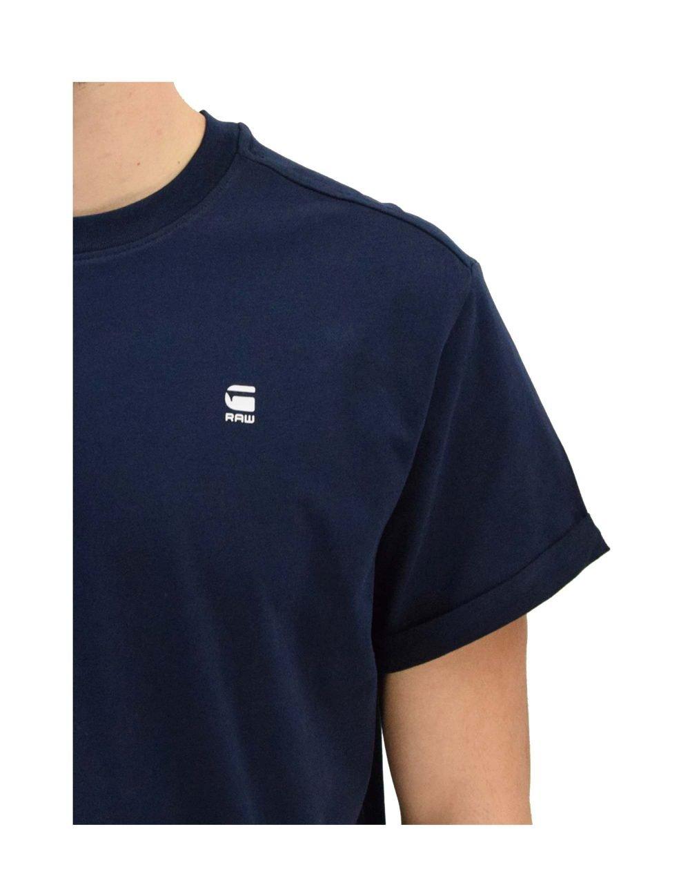 G-Star Raw Lash Tee (D16396-B353-6067) Sartho Blue