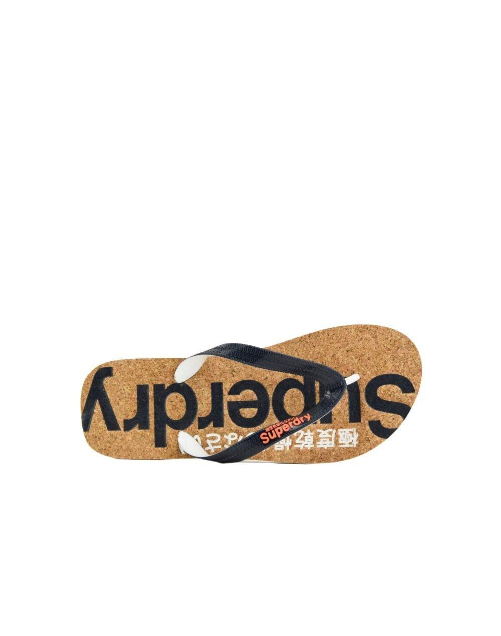 Superdry Cork Flip Flop (WF310005A 24S) Dark Navy