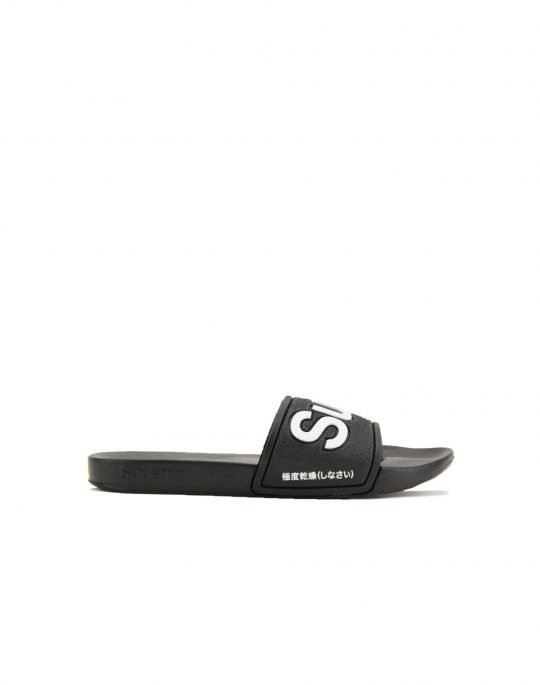 Superdry Eva Pool Slide (WF300008A 02A) Black