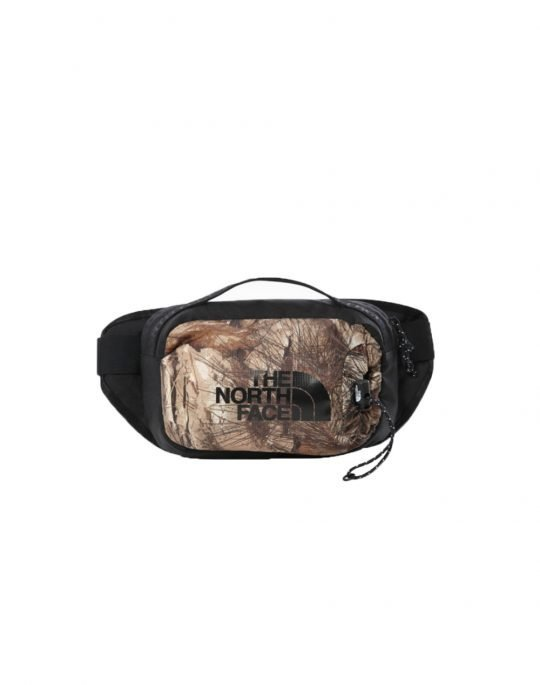 The North Face Bozer Hip Pack III 3L (NF0A52RW0AR1) Kelp Tan Forest Floor Print/Black