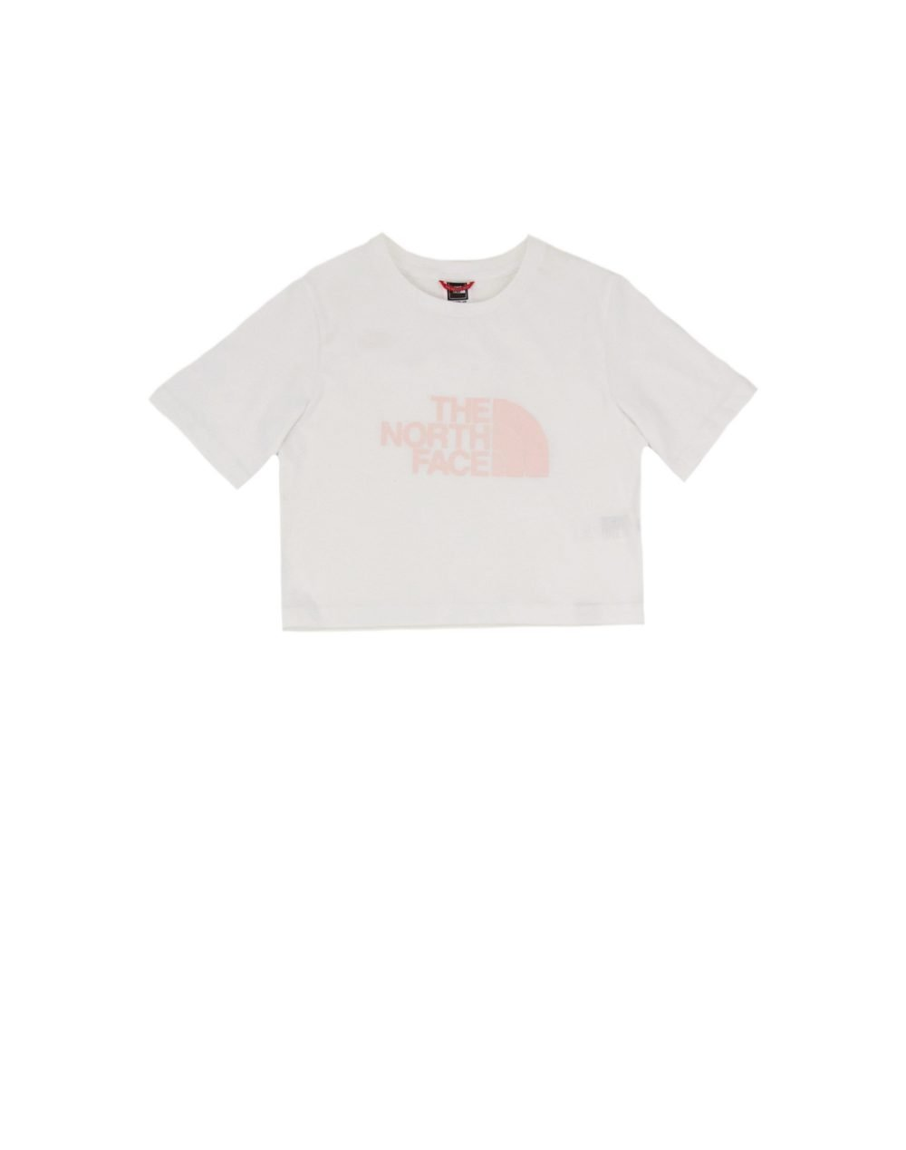 The North Face Girl Easy Cropped Tee (NF0A558XFN41) White