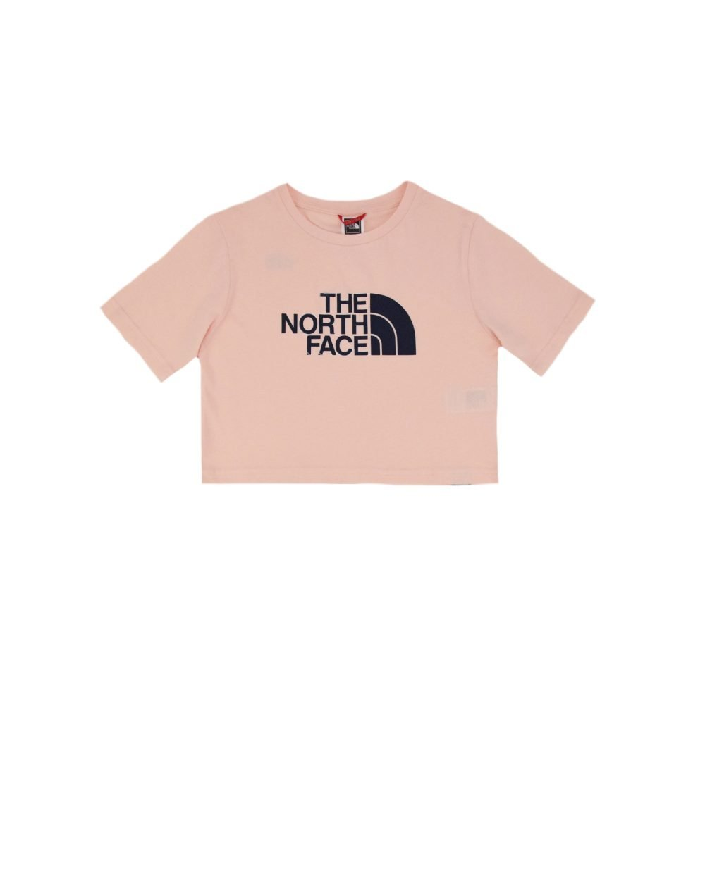 The North Face Girl Easy Cropped Tee (NF0A558XWC61) Pearl Blush