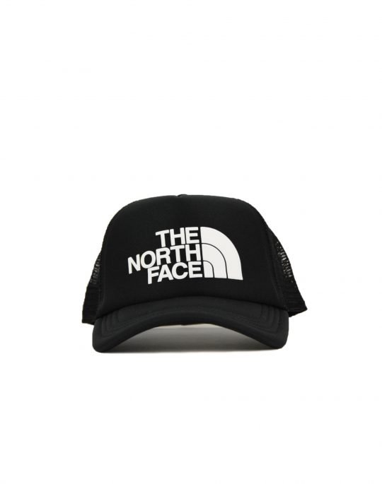 The North Face Logo Trucker (NF0A3FM3KY41) Black/White