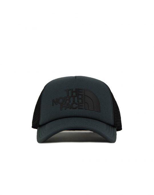 The North Face Logo Trucker (NF0A3FM3MN81) Asphalt Grey/Black
