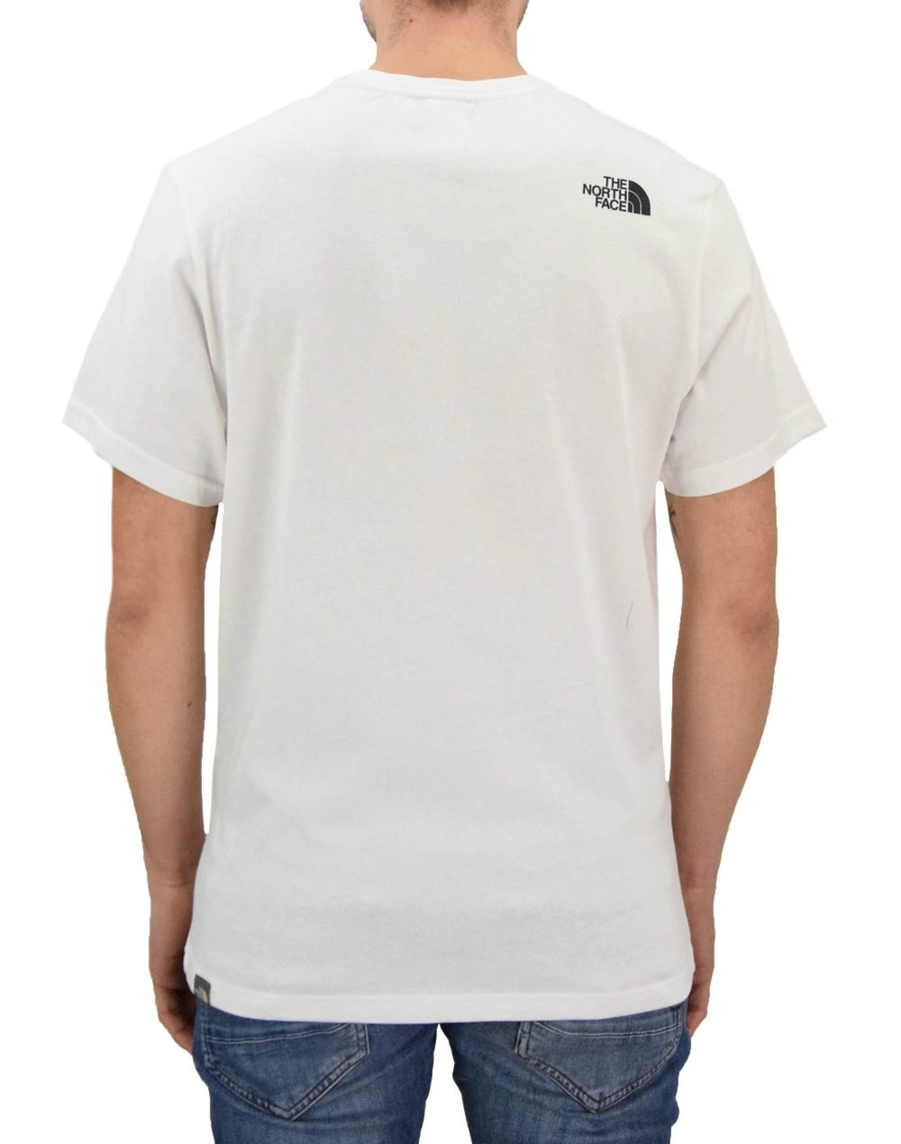 The North Face Never Stop Exploring Tee (NF0A2TX4LB11) White/Red