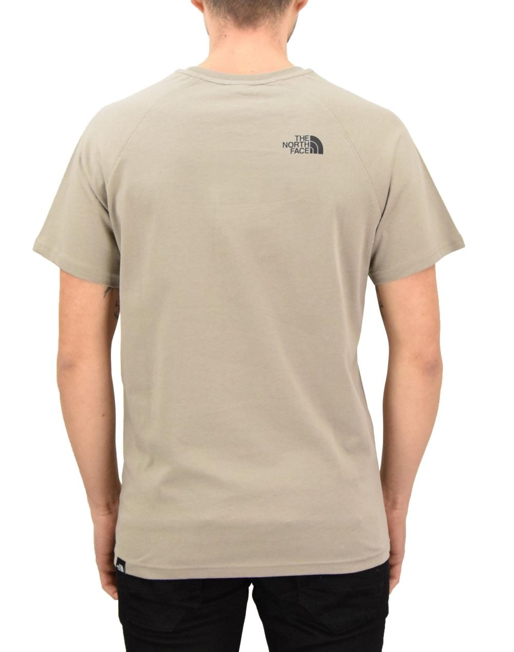 The North Face Raglan Red Box Tee (NF0A3BQOVQ81) Mineral Grey