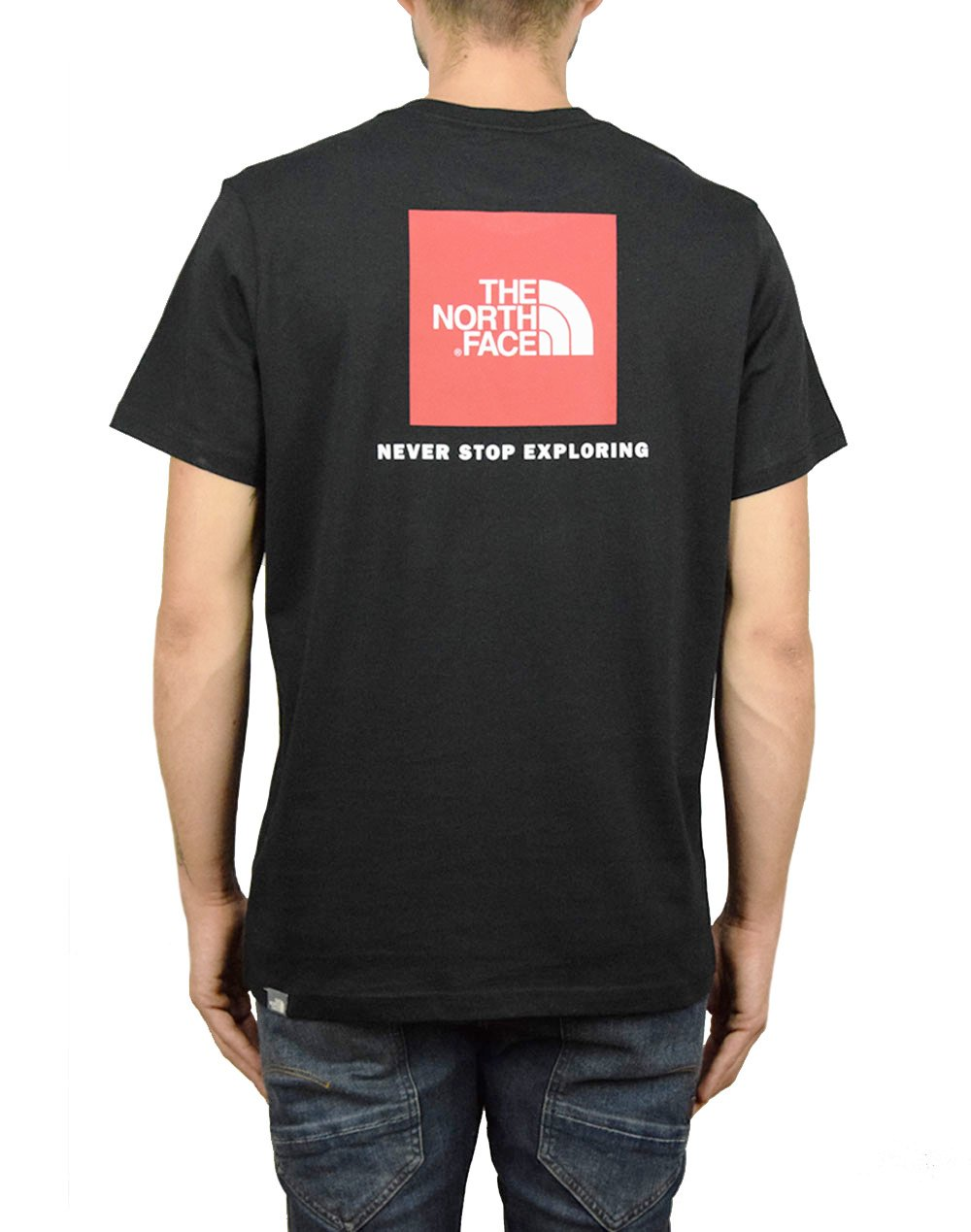 The North Face Red Box Tee (NF0A2TX2JK31) Black