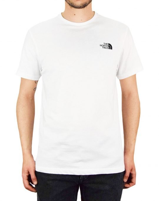 The North Face Simple Dom Tee (NF0A2TX5FN41) White
