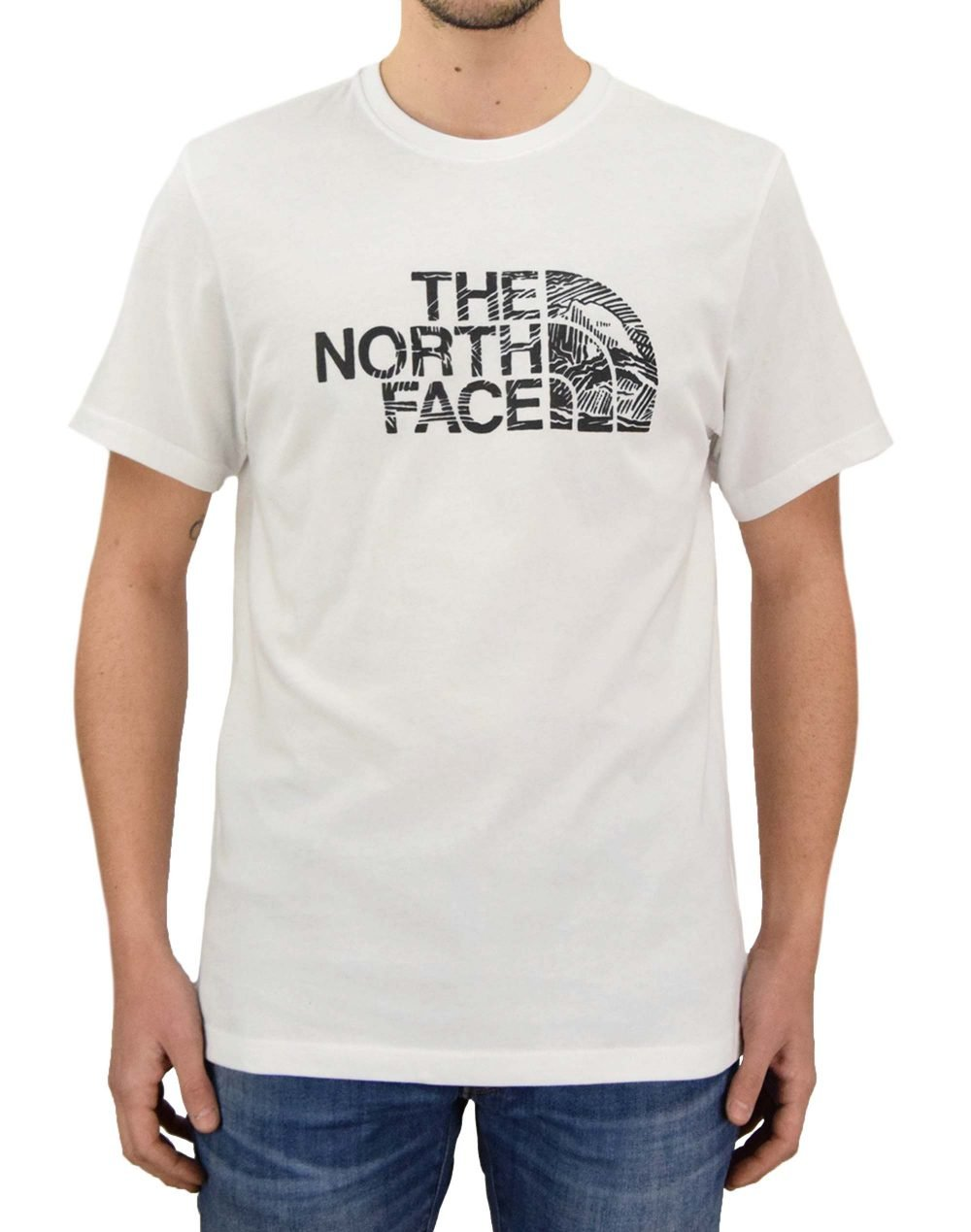 The North Face Woodcut Dome Tee (NF00A3G1LA91) White