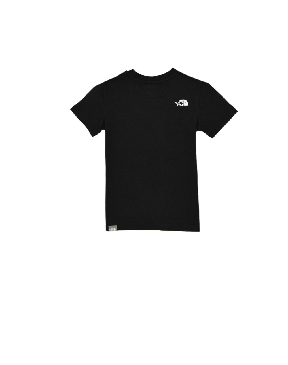 The North Face Youth Box Tee (NF0A3BS2C5W1) Black/Sulphur Spring Green