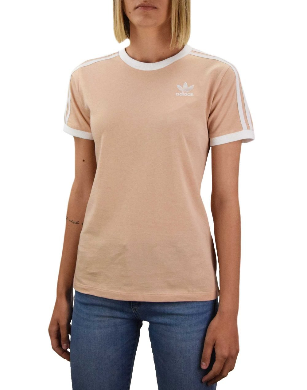 Adidas 3 Stripes Tee (GT4262) Halo Blush