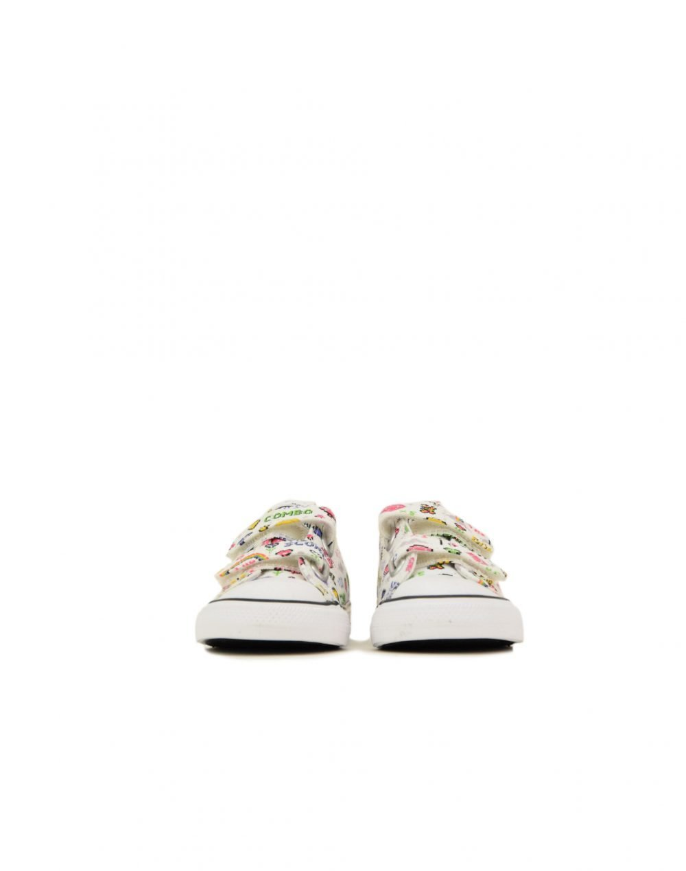 Converse Chuck Taylor All Star 2V Gamer Ox (770172C) White/Black/Bold Pink