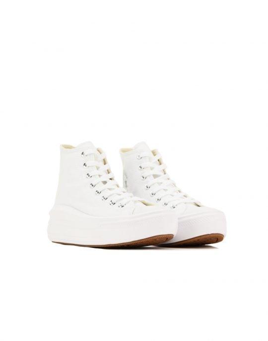 Converse Chuck Taylor All Star Move Hi Top (568498C) White/Natural Ivory/Black