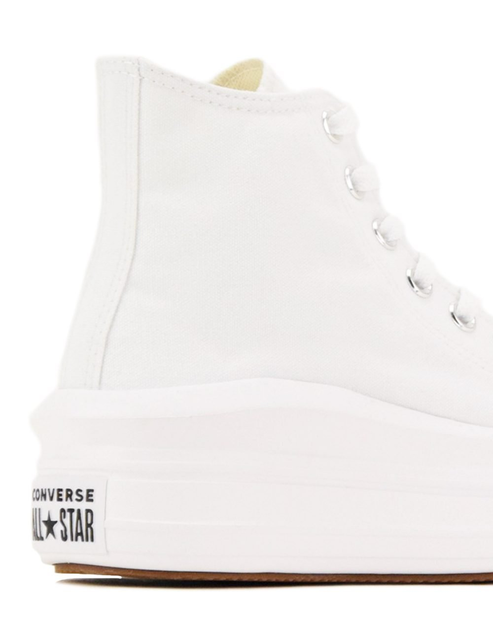 Converse Chuck Taylor All Star Move Hi Top (568498C) White/Natural Ivory/Black