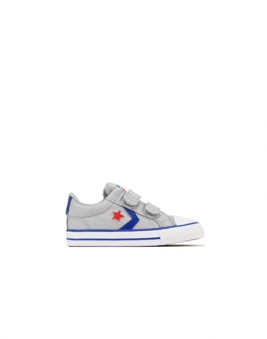 Converse Star Player 2V OX (763529C) Wolf Grey/Blue/Enamel Red