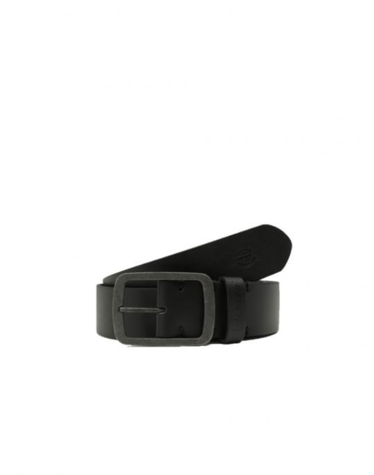 Dickies Eagle Lake Leather Belt (DK841189BLK1) Black