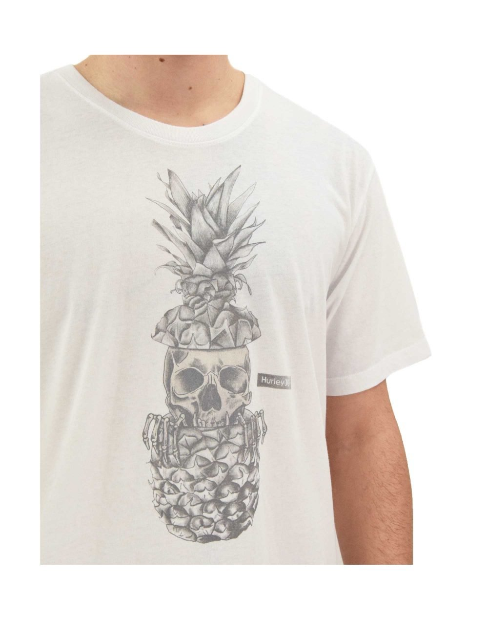 Hurley Everyday Washed Peeks Tee (CZ6042-H100) White